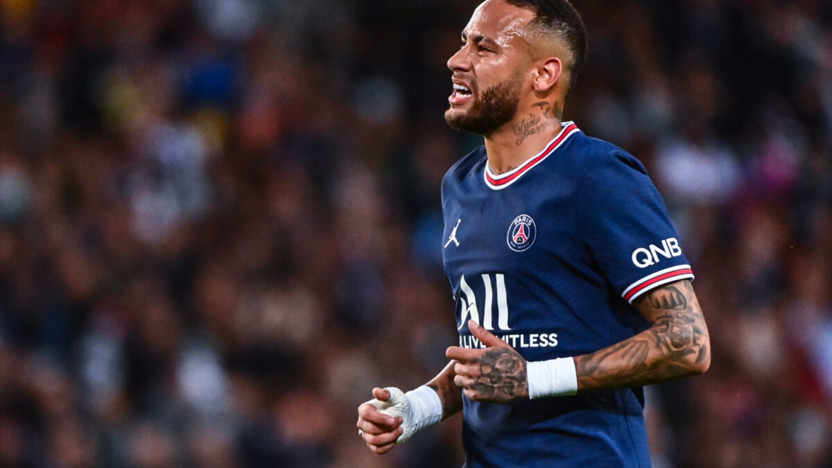 Neymar pourrait mettre un terme à sa carrière en 2022. Icon Sport