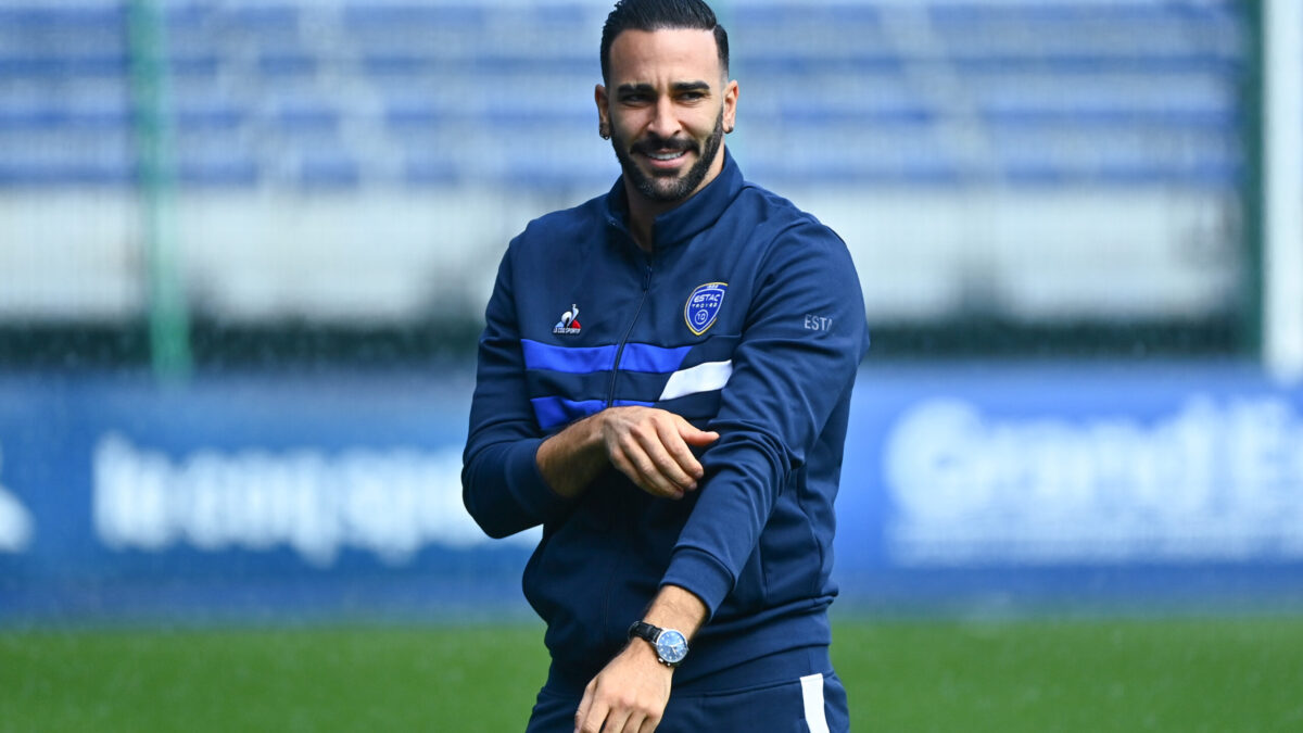 Adil Rami n'a toujours pas joué avec Troyes (iconsport)