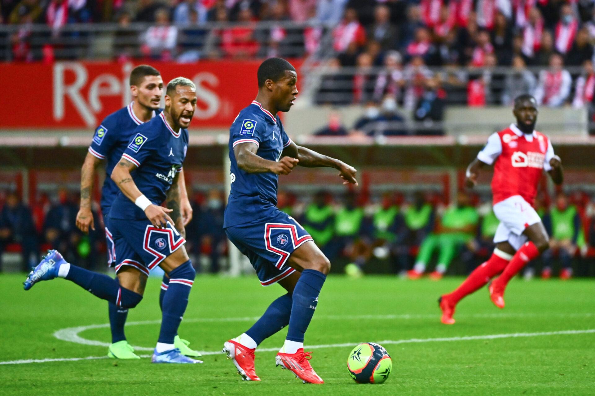 Georginio Wijnaldum sous les couleurs du PSG (iconsport)