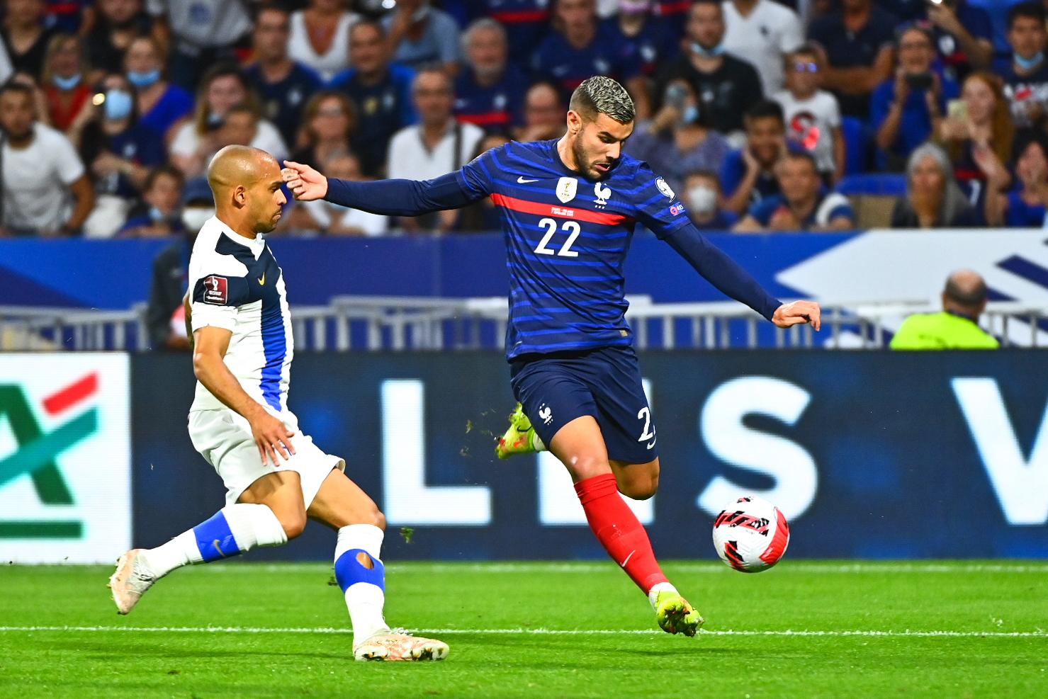Théo Hernández a rejoint les Bleus en septembre 2021 et fêté sa première sélection à Lyon contre la Finlande (iconsport)