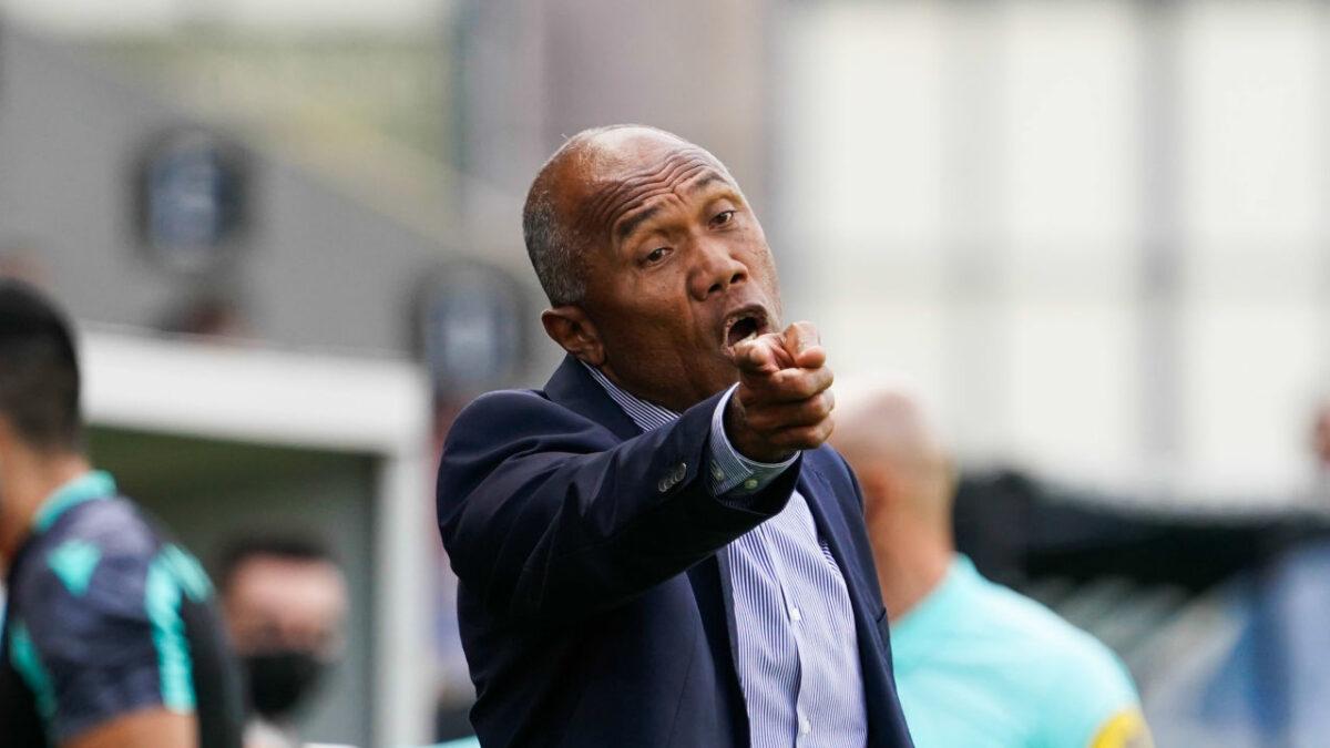 Antoine Kombouaré, l'entraîneur de Nantes. Icon Sport