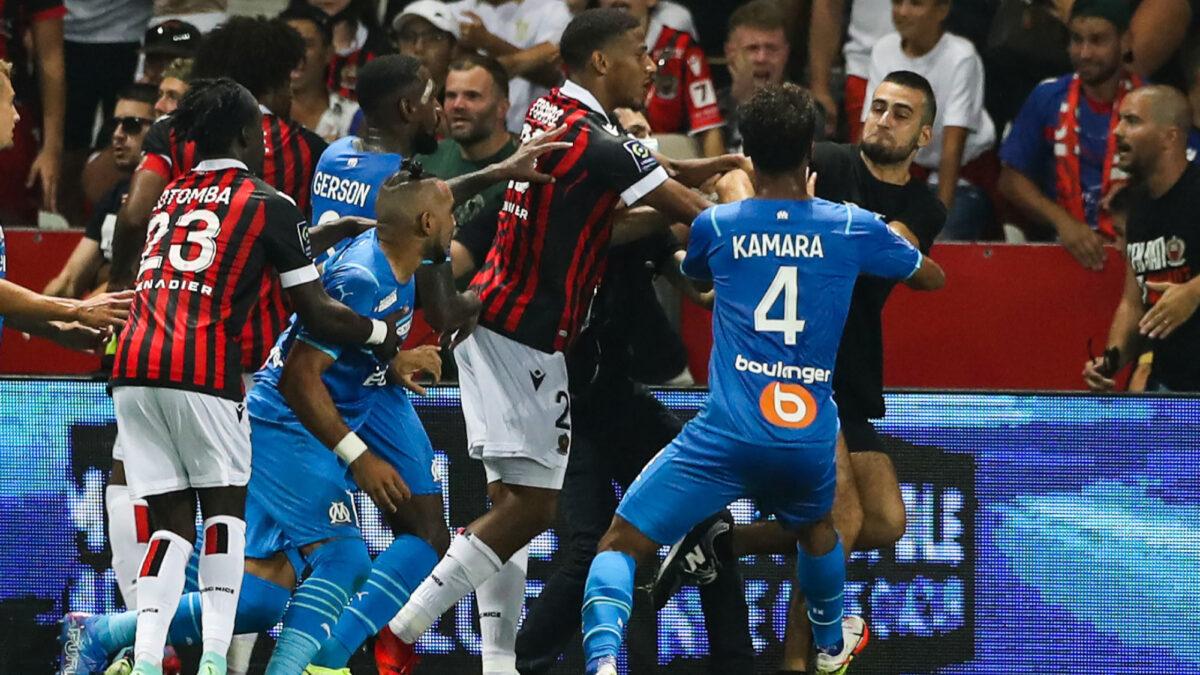Un an de prison avec sursis et cinq ans d'interdiction de stade pour le supporter de Nice qui avait frappé Dimitri Payet. Icon Sport