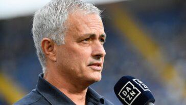 José Mourinho ne se voit pas à Newcastle pour l'instant (iconsport)
