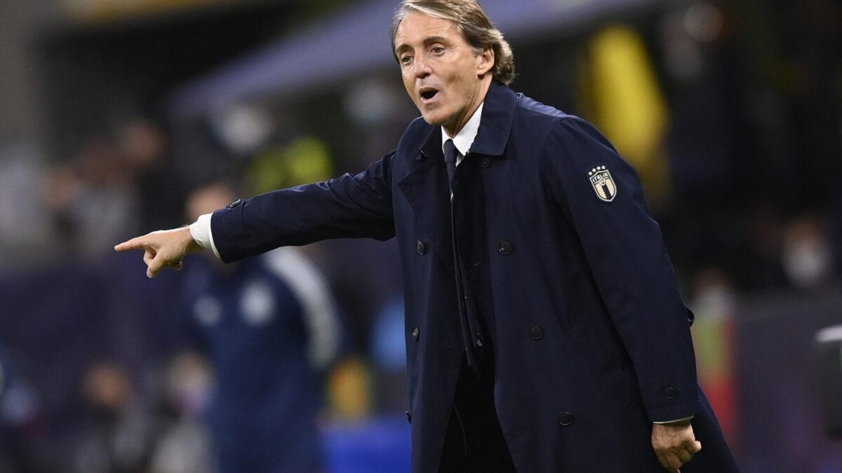 Roberto Mancini satisfait après la victoire face à la Belgique (iconsport)