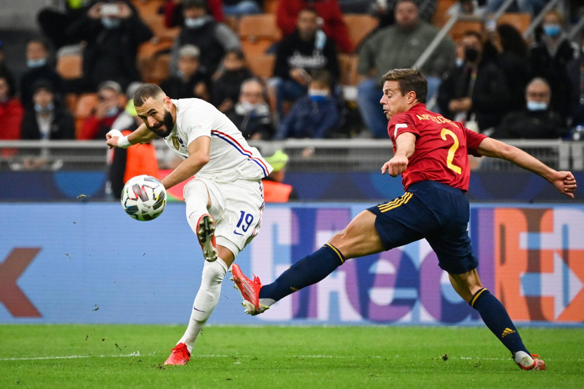 En Ligue des nations comme à l'Euro, Benzema a brillé et emmené toute l'équipe de France derrière lui (iconsport)