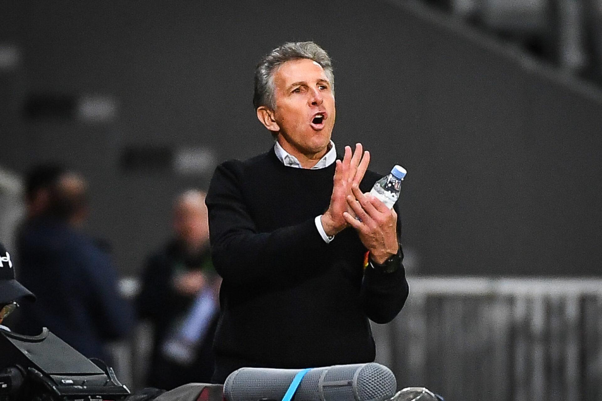 Claude Puel a été confirmé comme entraîneur de Saint-Etienne par sa direction, ce lundi 4 octobre. Icon Sport