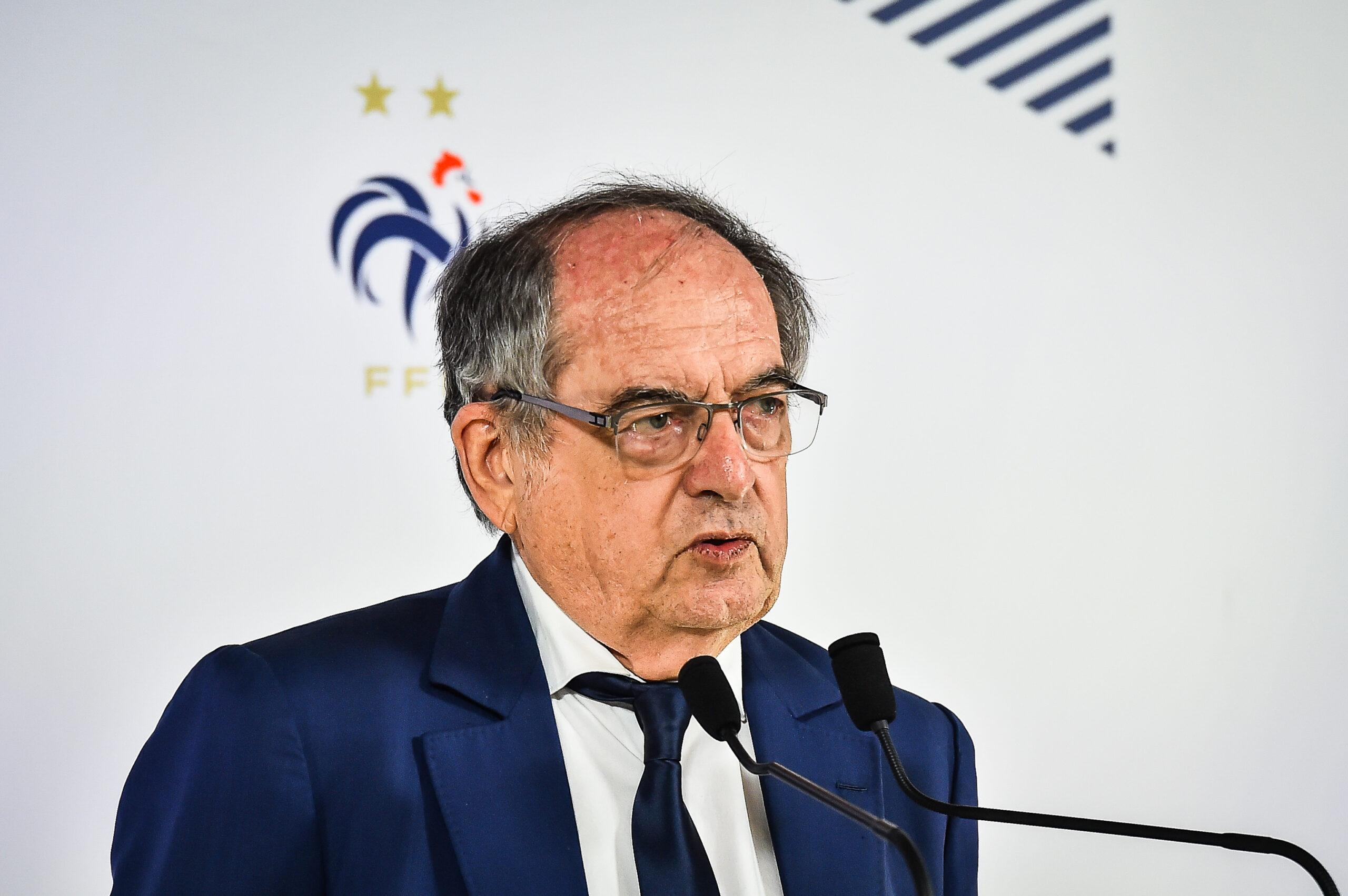 Noël Le Graët, président de la FFF (IconSport)