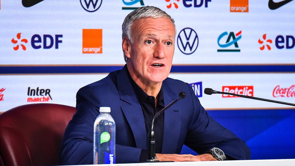 Didier Deschamps, sélectionneur de l'équipe de France (IconSport)