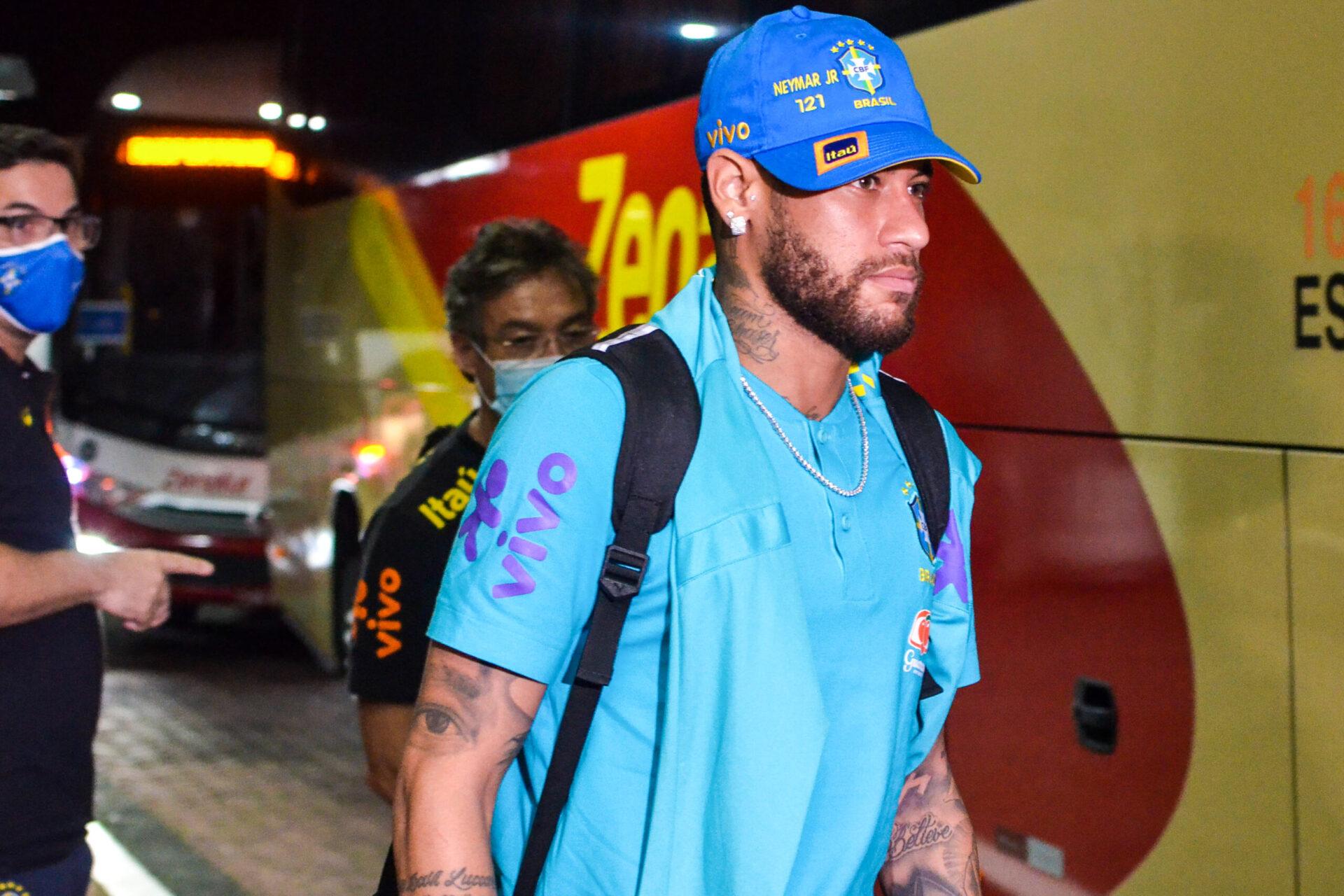 Neymar sous les couleurs du Brésil (iconsport)