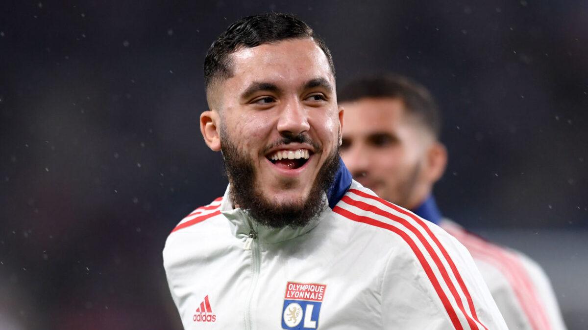 Rayan Cherki, tout frais international Espoirs français. Icon Sport