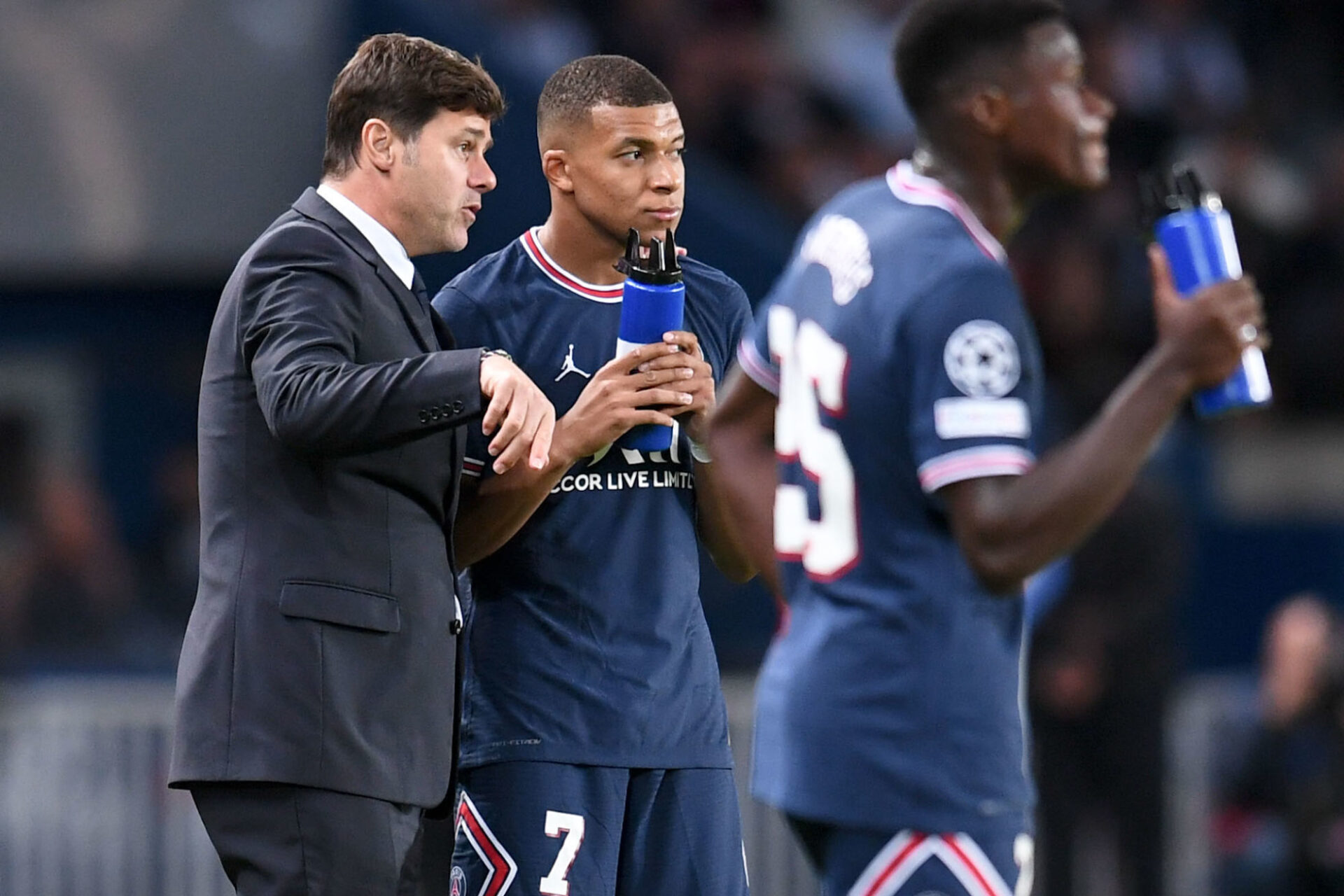 Mauricio Pochettino a finalement vu Kylian Mbappé rester au PSG. Icon Sport