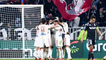 L'OL s'impose contre l'AS Monaco après un match abouti des hommes de Peter Bosz. Icon Sport