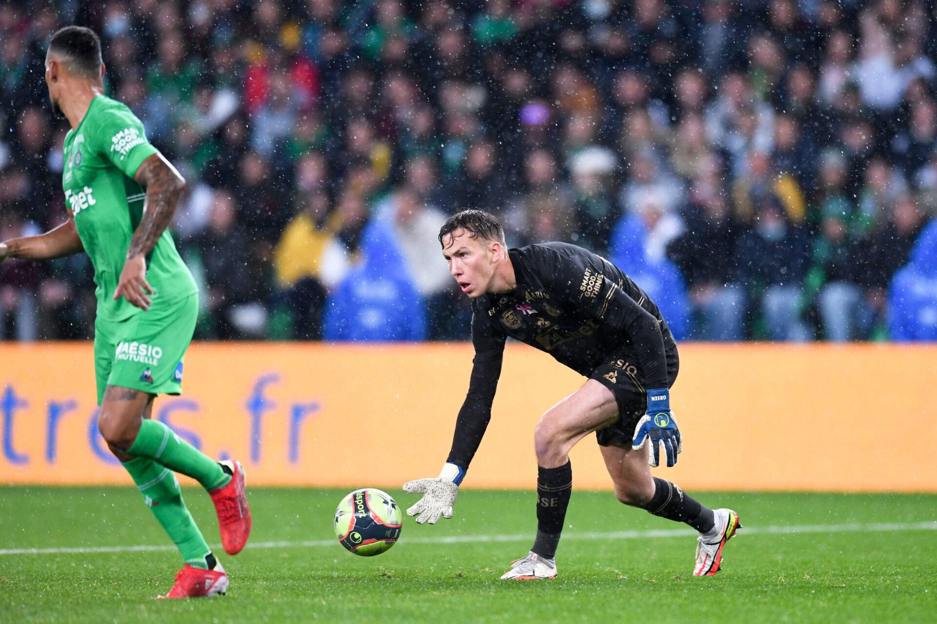 Les Verts peuvent envisager la suite sereinement si Etienne Green continue de sortir des prestations aussi monstrueuses dans les buts. Icon Sport