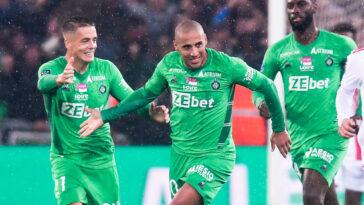 Wahbi Khazri et l'AS Saint-Etienne sont-ils lancés après leur match nul dans le derby contre l'OL ? Icon Sport