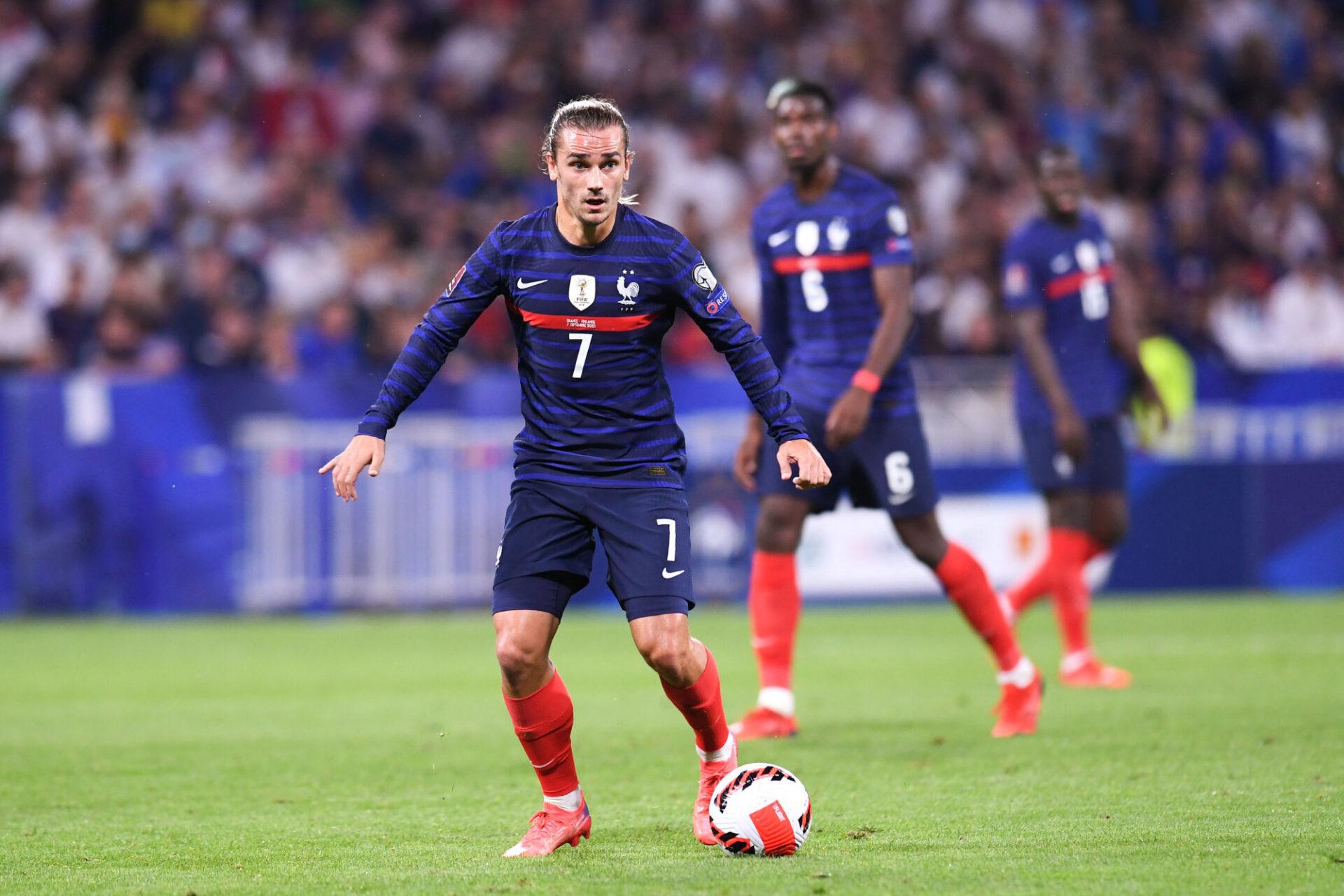 Antoine Griezmann a retrouvé de la confiance en équipe de France en inscrivant un doublé lors du dernier match contre la Finlande. Icon Sport