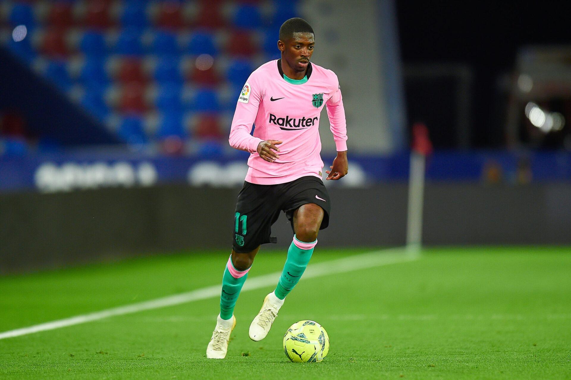 Ousmane Dembélé devrait faire son grand retour à la compétition dans les prochaines semaines, après trois mois d'arrêt. Icon Sport