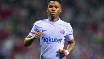 Ansu Fati est tout proche de prolonger son contrat avec le FC Barcelone. Icon Sport