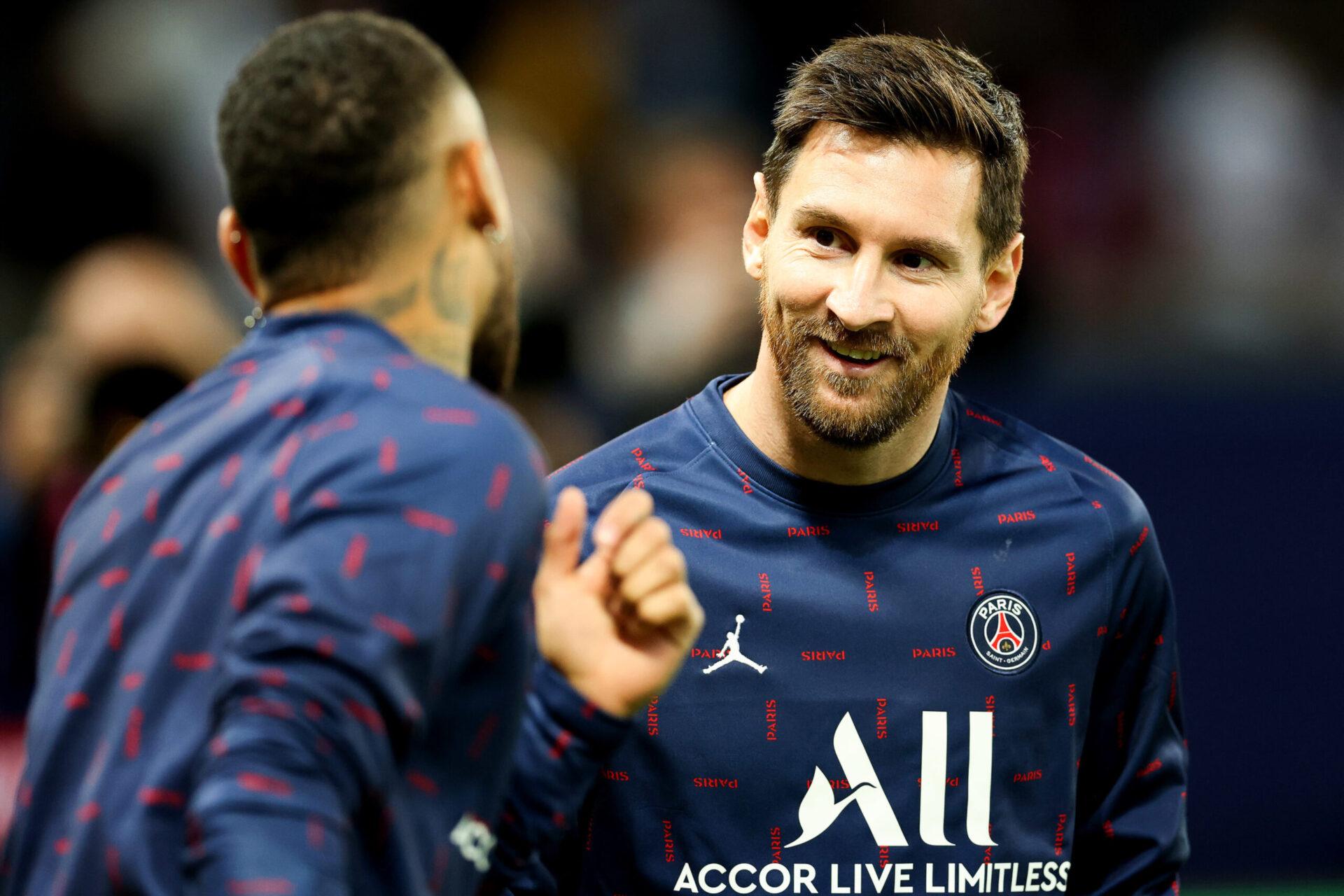 Neymar (gauche) et Lionel Messi (droite) pourraient être titulaire avec le PSG (iconsport)