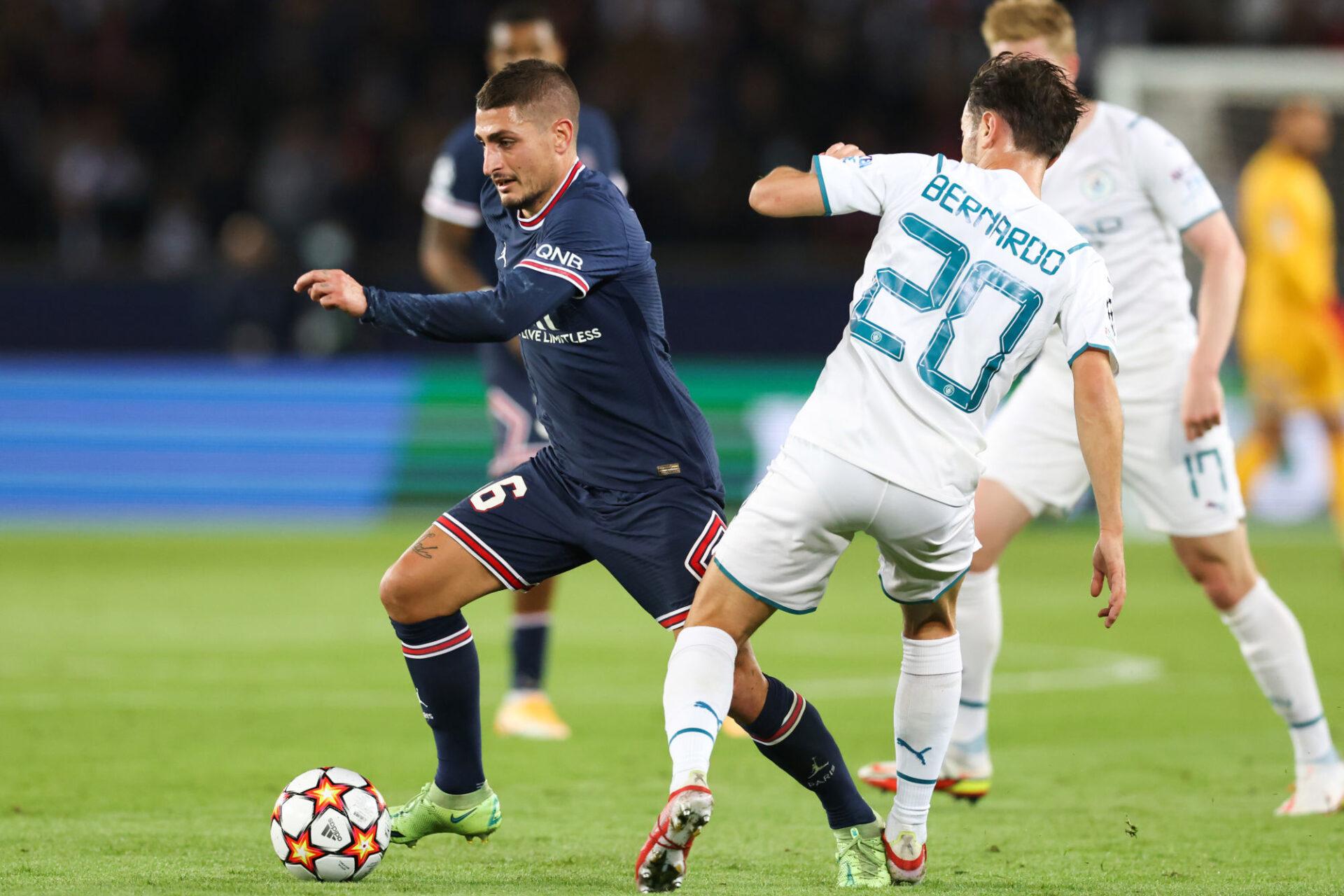 Marco Verratti pourrait être reconduit au poste de sentinelle contre Rennes. Icon Sport