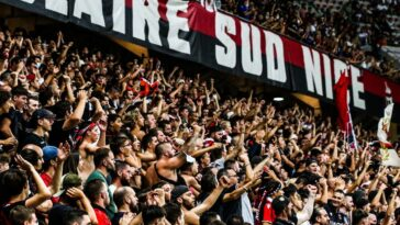 Plusieurs supporters de Nice ont commis l'irréparable lors de la rencontre contre l'OM, dimanche 22 août. Icon Sport
