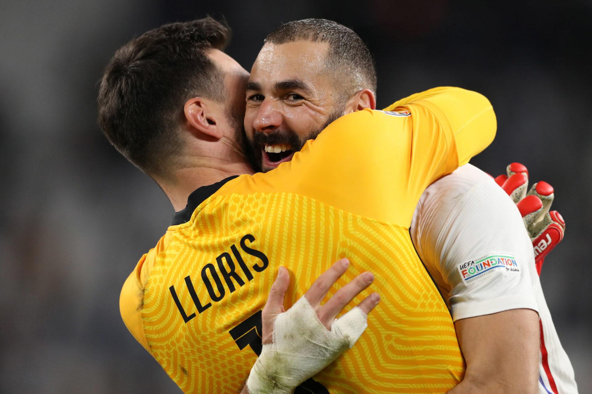 Hugo Lloris s'est réjoui de la réaction des Bleus contre la Belgique en vue de la finale contre l'Espagne. Icon Sport