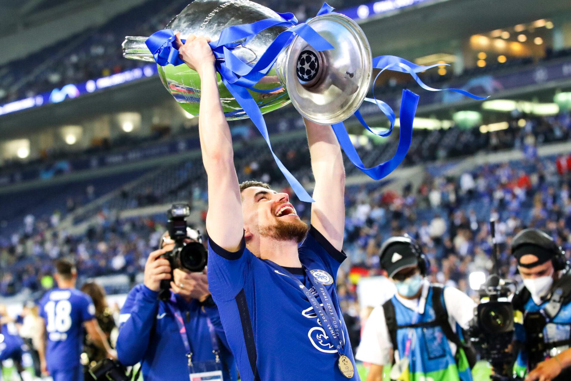 Jorginho a remporté la Ligue des champions face à Manchester City en plus de l'Euro 2020 (iconsport)