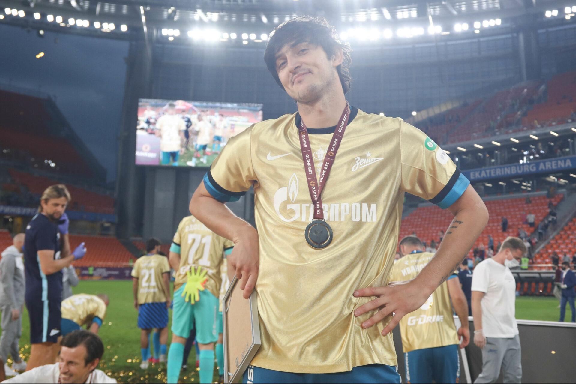 Azmoun a notamment remporté la coupe de Russie avec le Zenith en 2020 (iconsport)