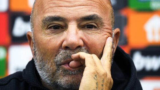 Jorge Sampaoli s'est exprimé avant le match face à Lille (iconsport)