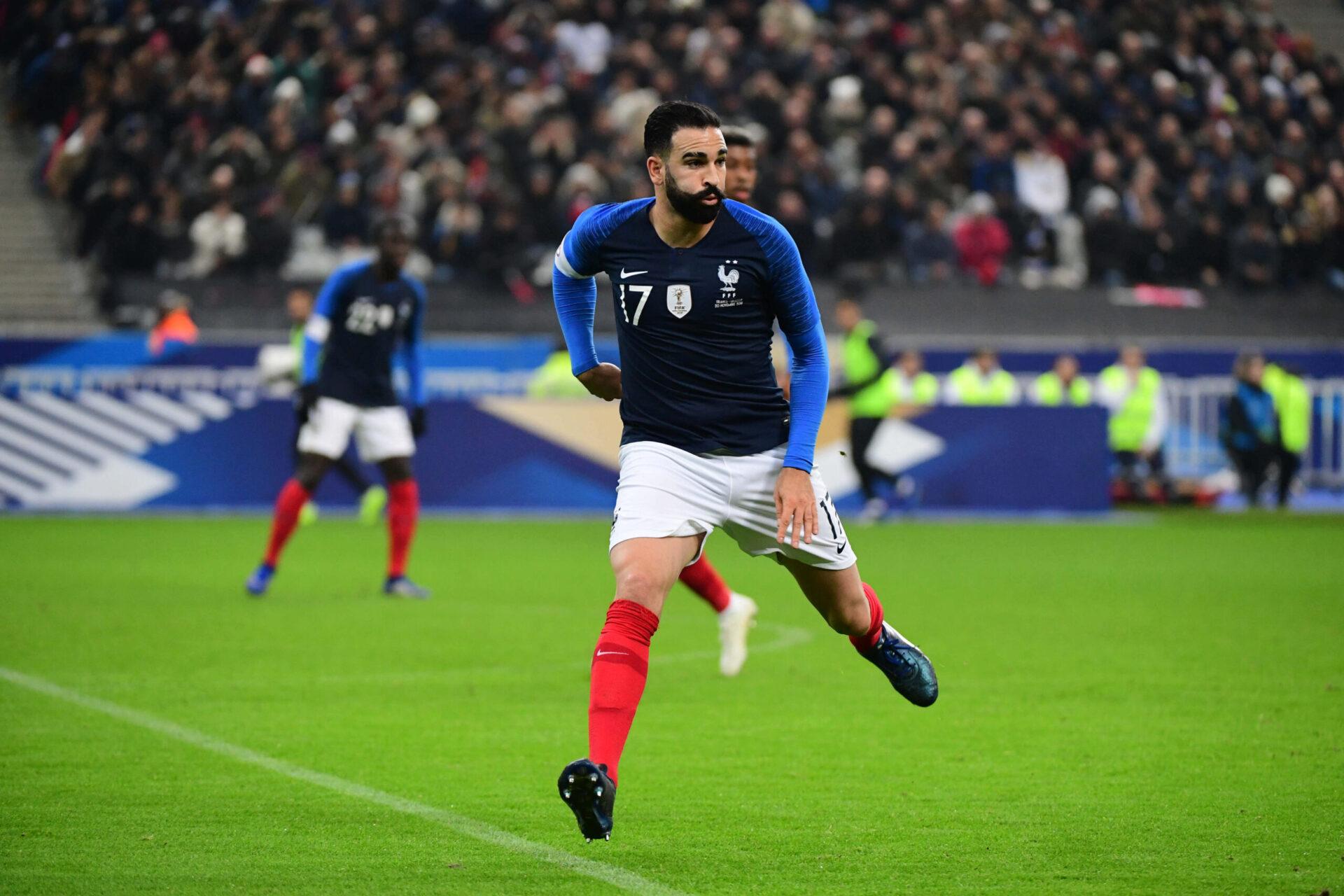 Adil Rami sous le maillot des Bleus (iconsport)