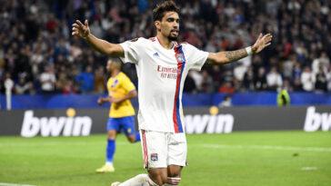 Lucas Paquetá est dans le groupe de l'OL pour affronter l'AS Monaco en Ligue 1. Icon Sport