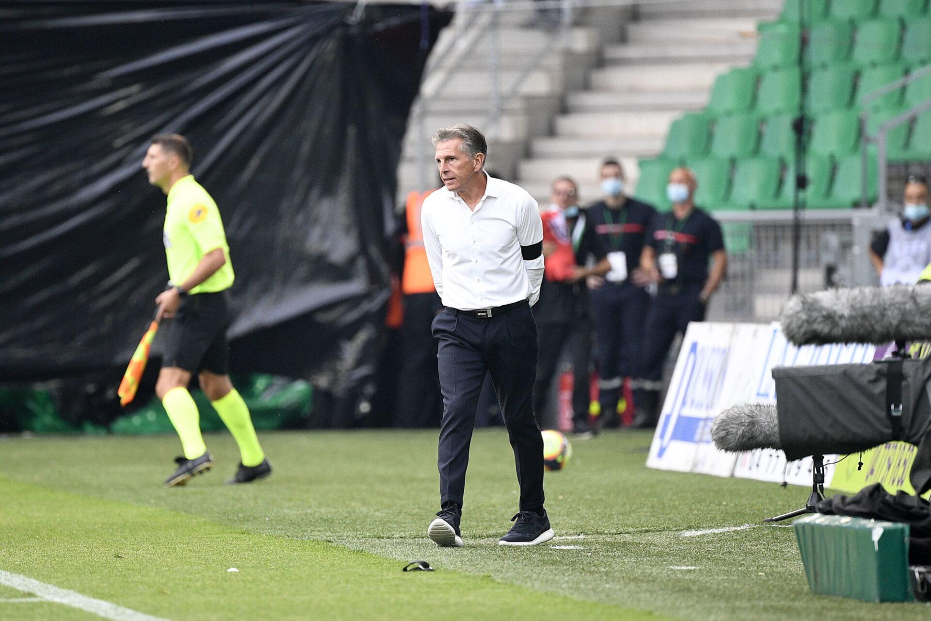 Claude Puel se sait menacé, mais il reste focalisé sur sa mission avec Saint-Etienne. Icon Sport