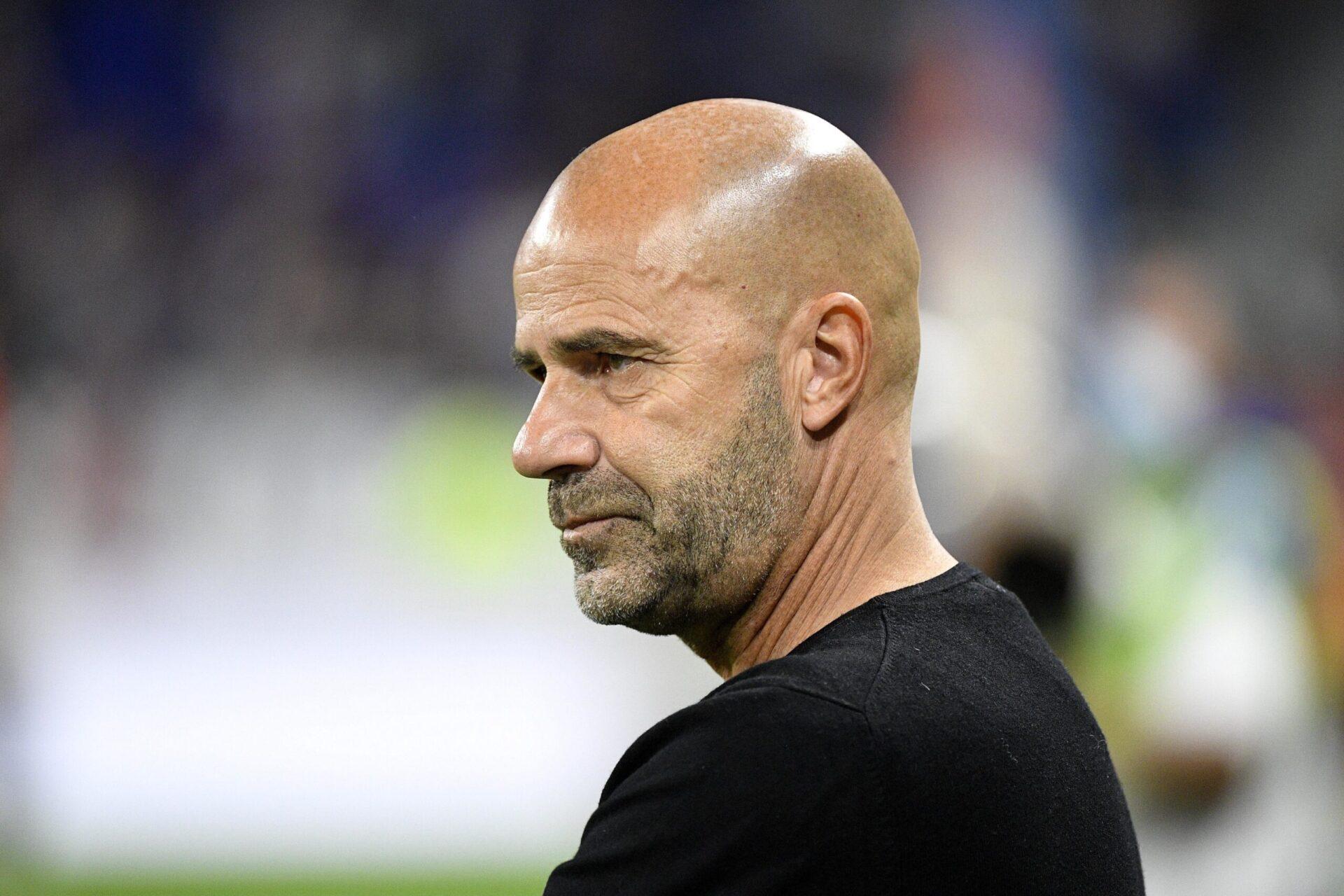 Lyon et Peter Bosz vont mieux et n'ont perdu qu'un seul de leurs huit derniers matchs au moment d'arriver à Saint-Étienne (iconsport)