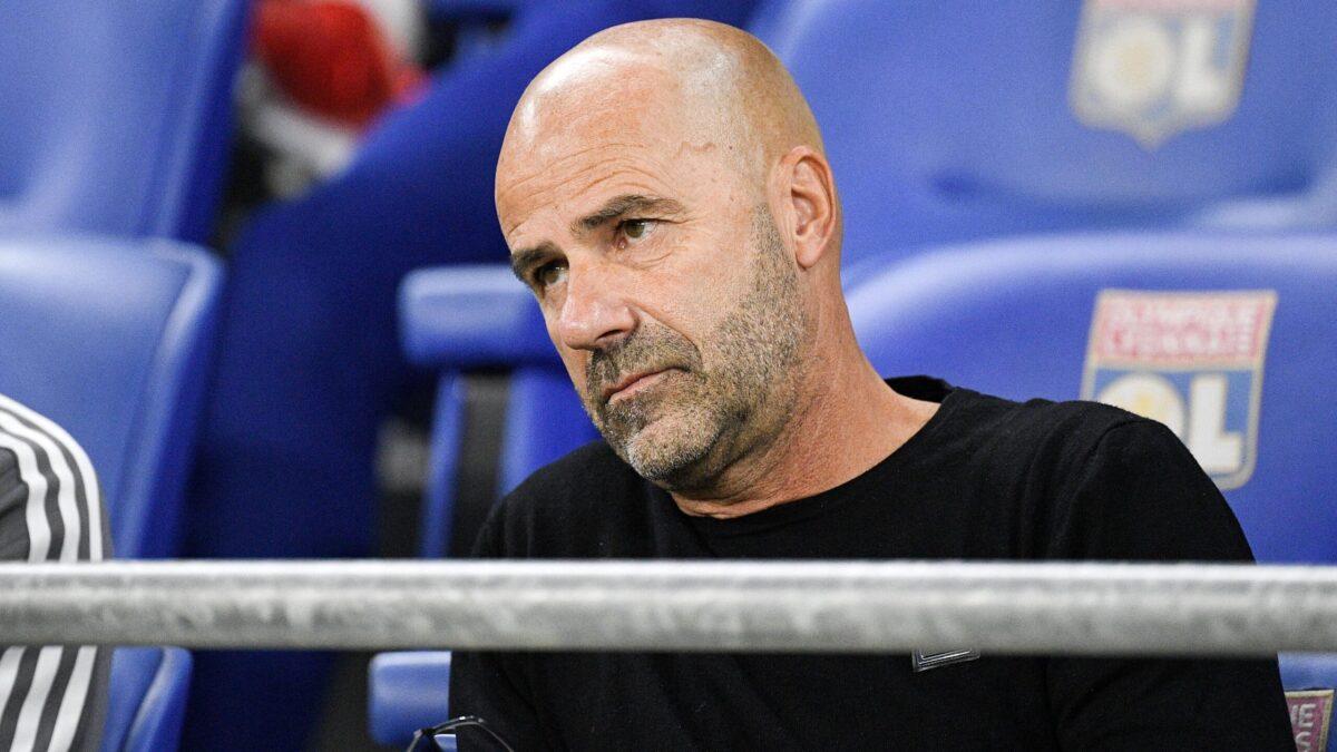 Peter Bosz était en conférence de presse avant le match face à Saint-Etienne (iconsport)