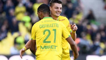 Le FC Nantes a vaincu Clermont. Icon Sport
