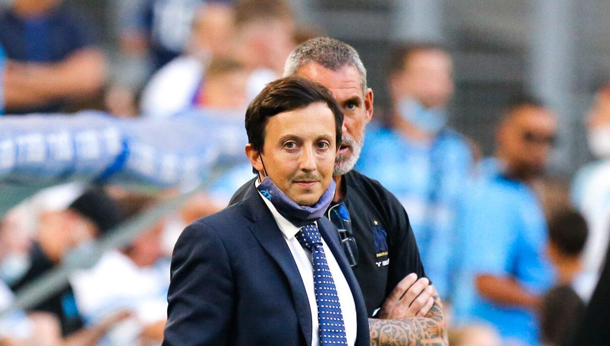 Pablo Longoria s'est adressé aux supporters de l'OM avant le Classique contre le PSG. Icon Sport