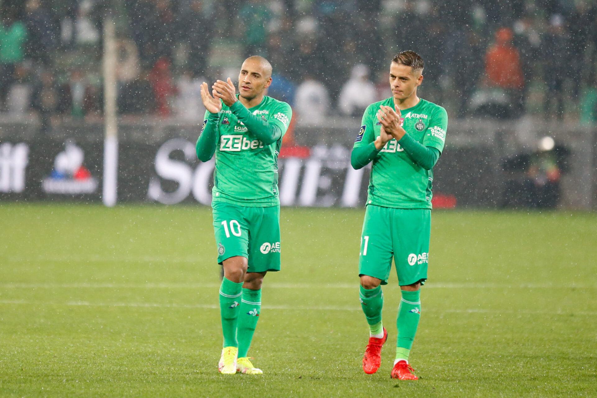 S'ils retrouvent de l'efficacité, les Verts de Wahbi Khazri et Romain Hamouma peuvent faire trembler beaucoup de défenses. Icon Sport