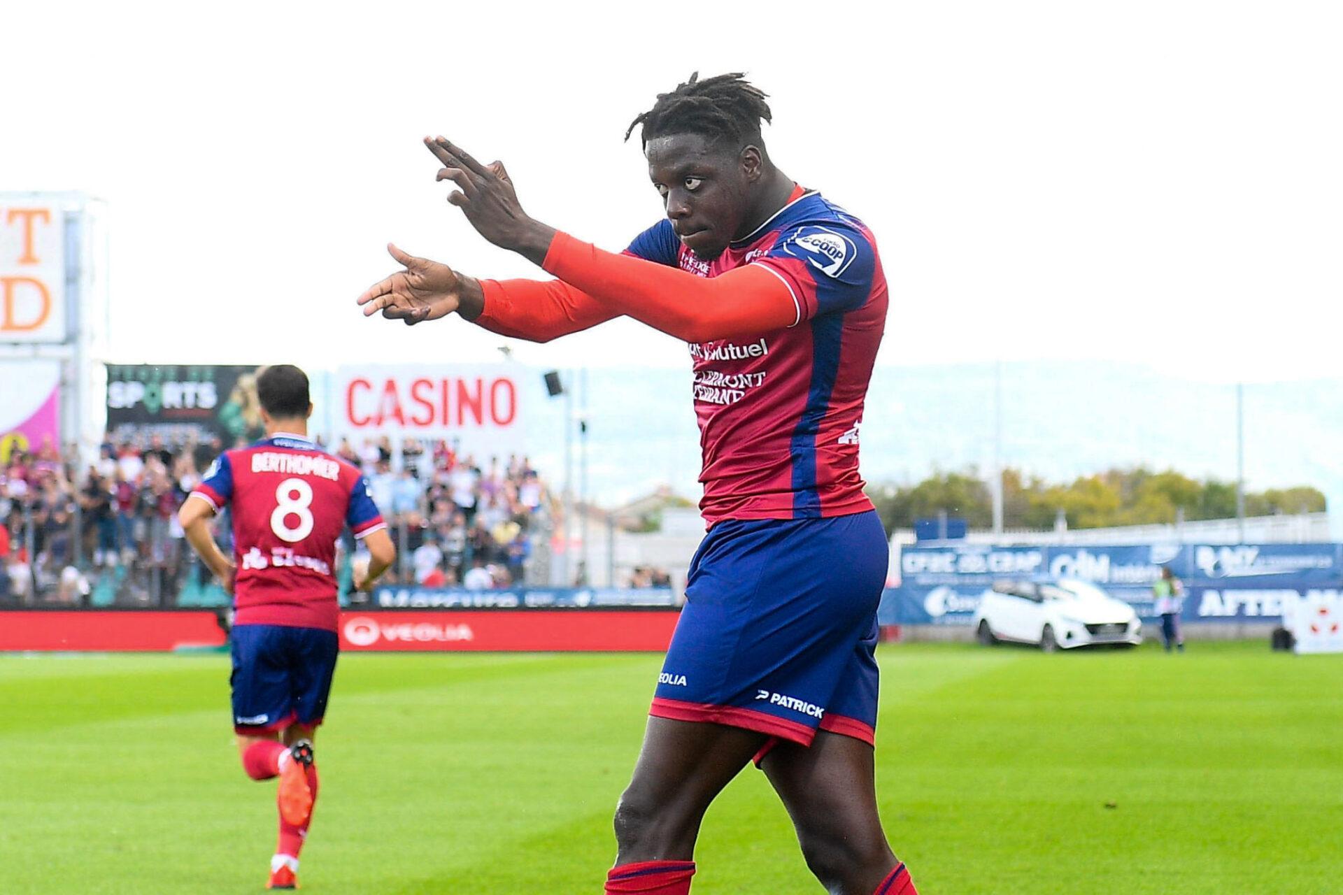 Mohamed Bayo ne devrait pas rester à Clermont au-delà de l'été 2022, mais fera tout pour maintenir son club dans l'élite avant de partir. Icon Sport