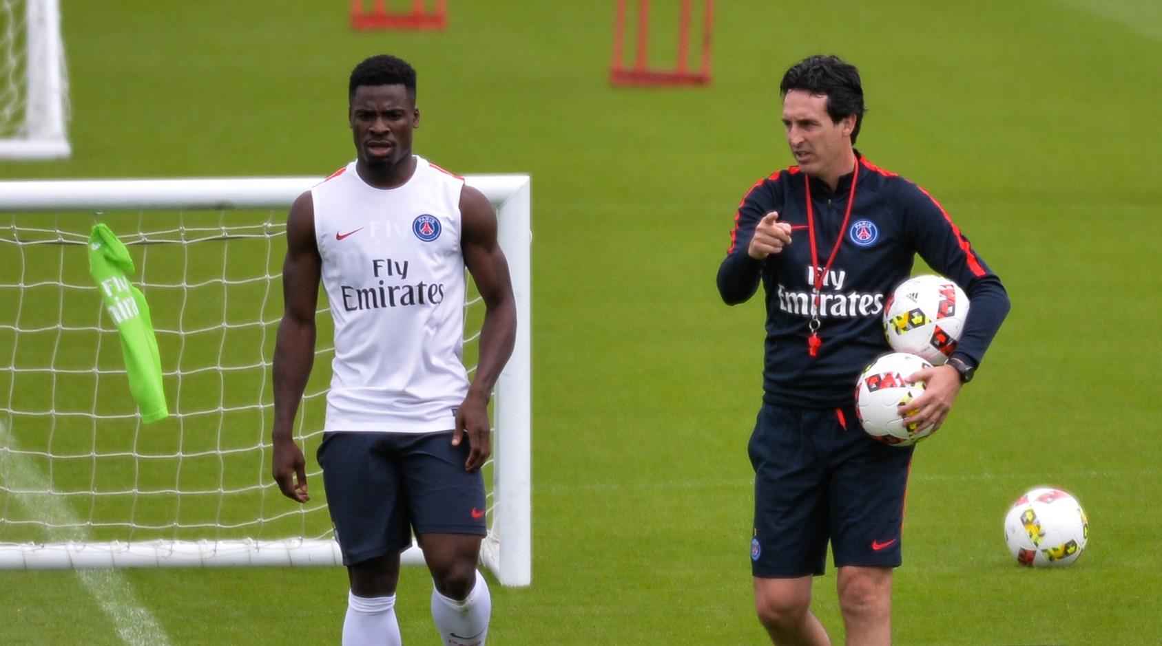 La présence d'Emery sur le banc de Villarreal a sans doute joué un gros rôle dans la venue d'Aurier (iconsport)