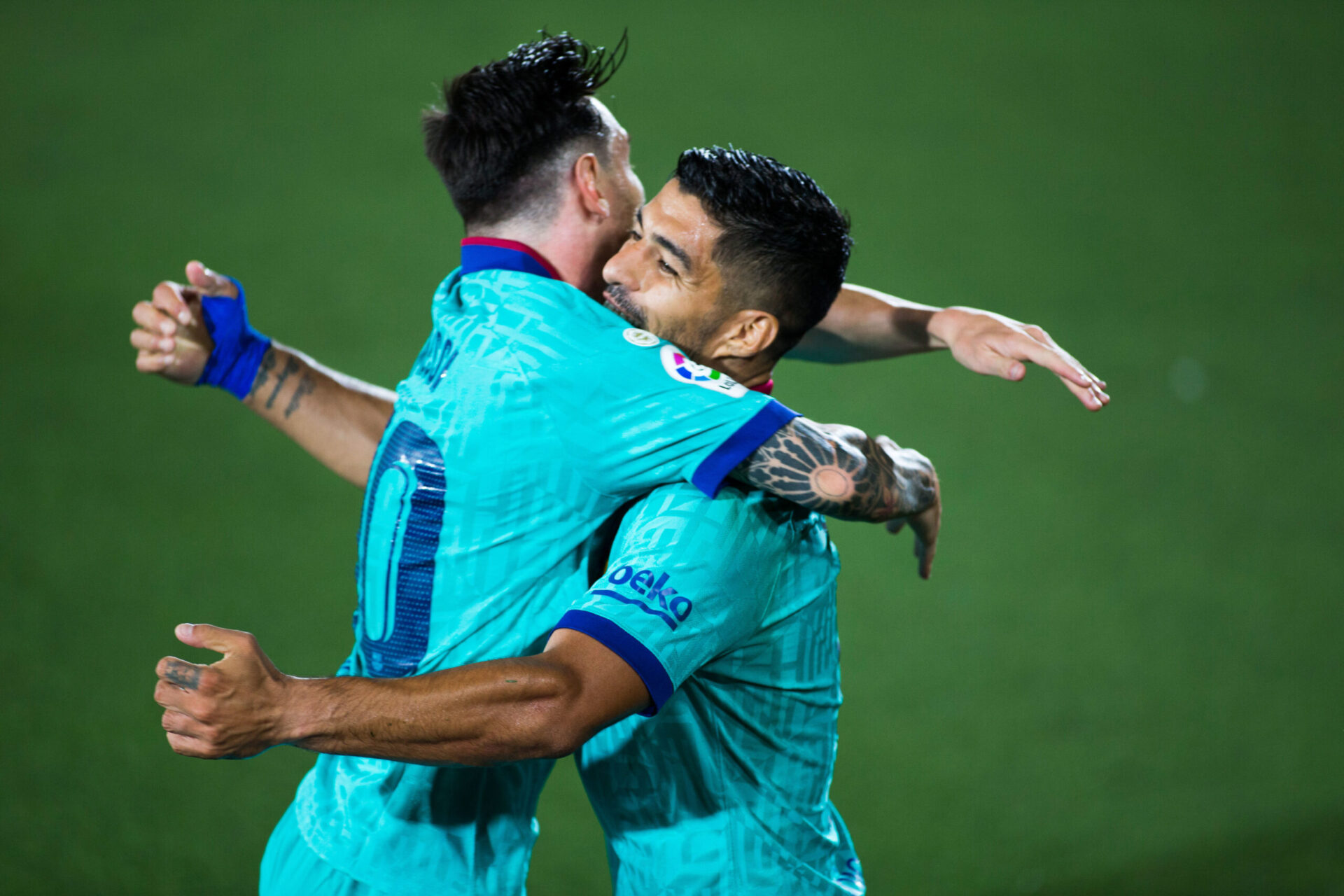 En un an d'intervalle, les deux amis et légendes Leo Messi et Luis Suarez ont quitté le FC Barcelone. Icon Sport