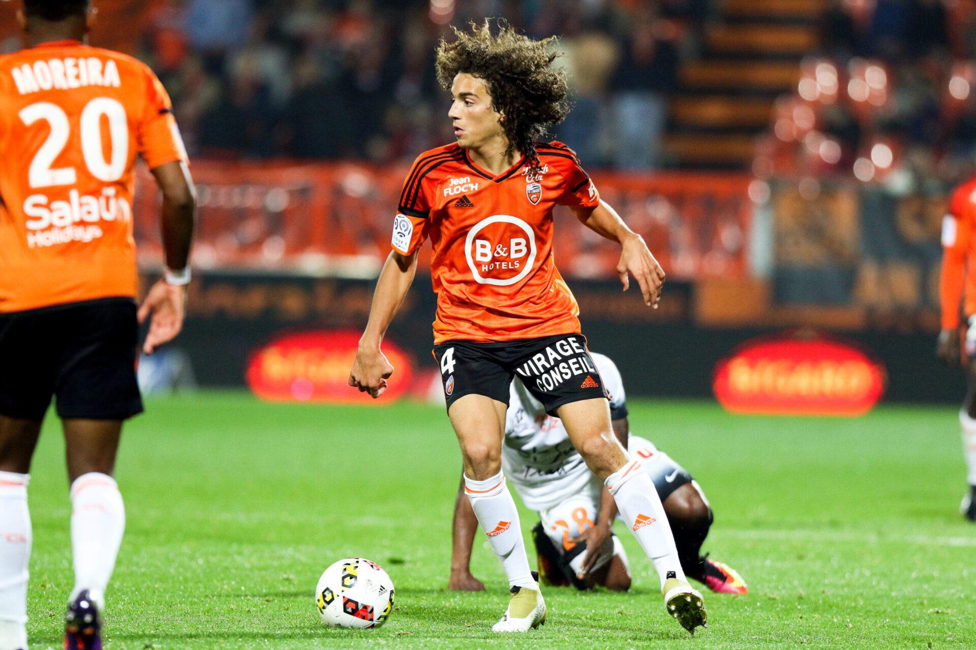 Si le Français a effectué la majeure partie de sa formation au PSG, c'est avec le FC Lorient qu'il a connu le niveau professionnel (iconsport)