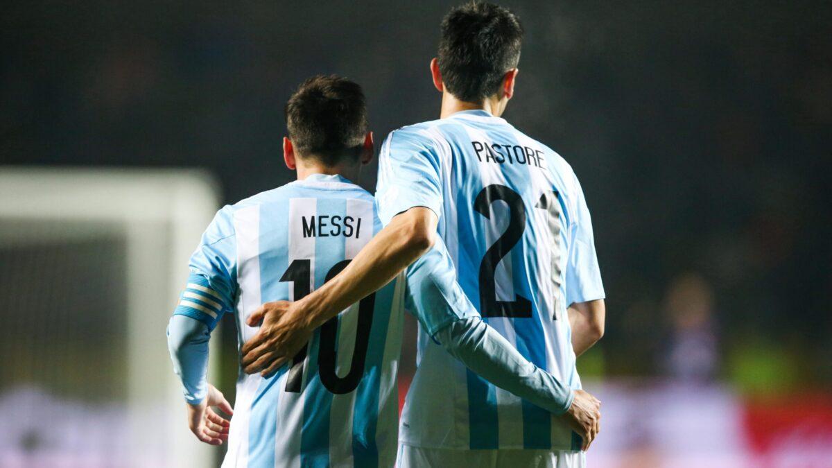 Javier Pastore a eu l'occasion de jouer avec Lionel Messi sous les couleurs de l'Argentine (iconsport)