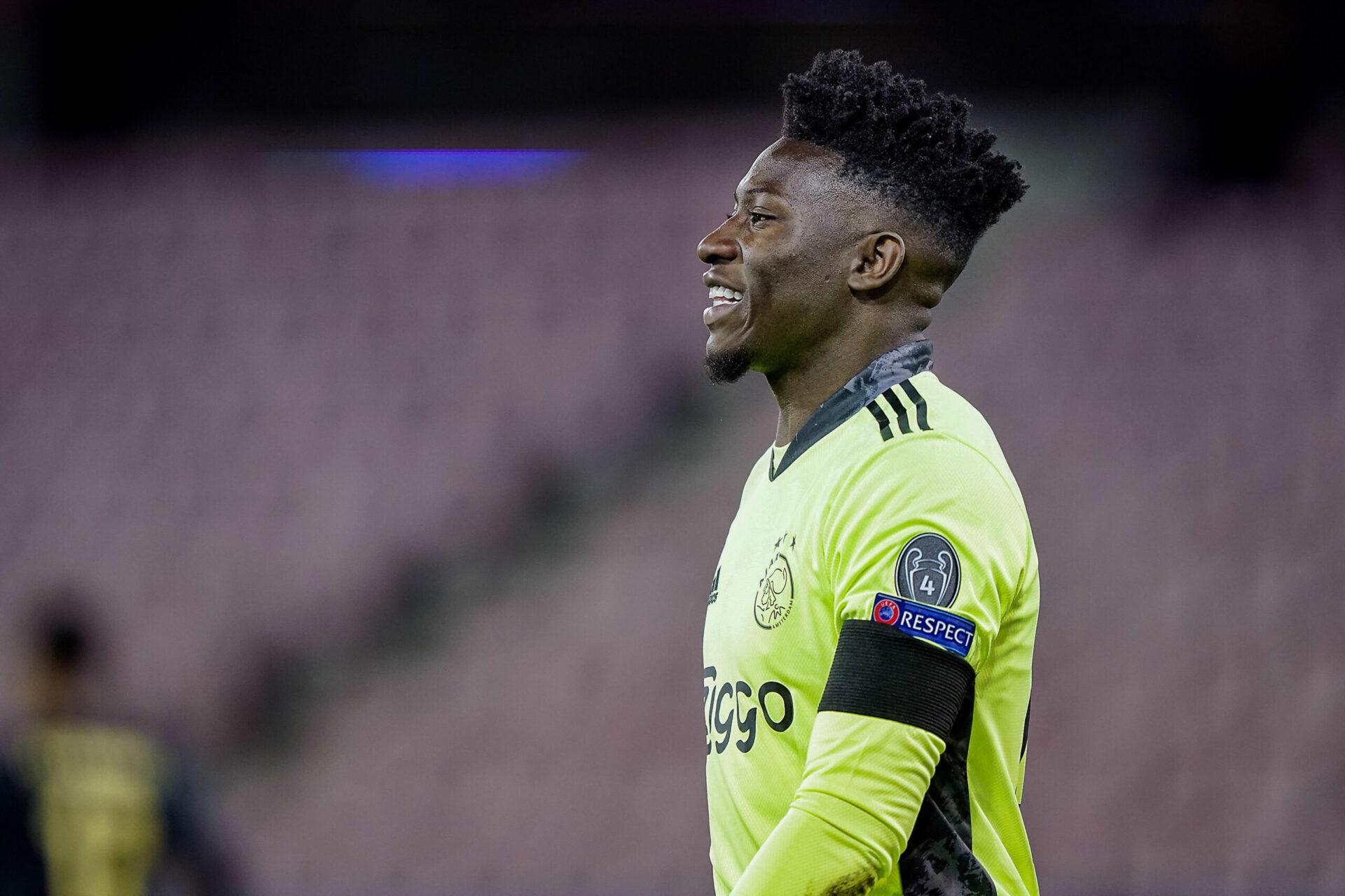Onana ne devrait plus disputer beaucoup de matchs avec l'Ajax (iconsport)