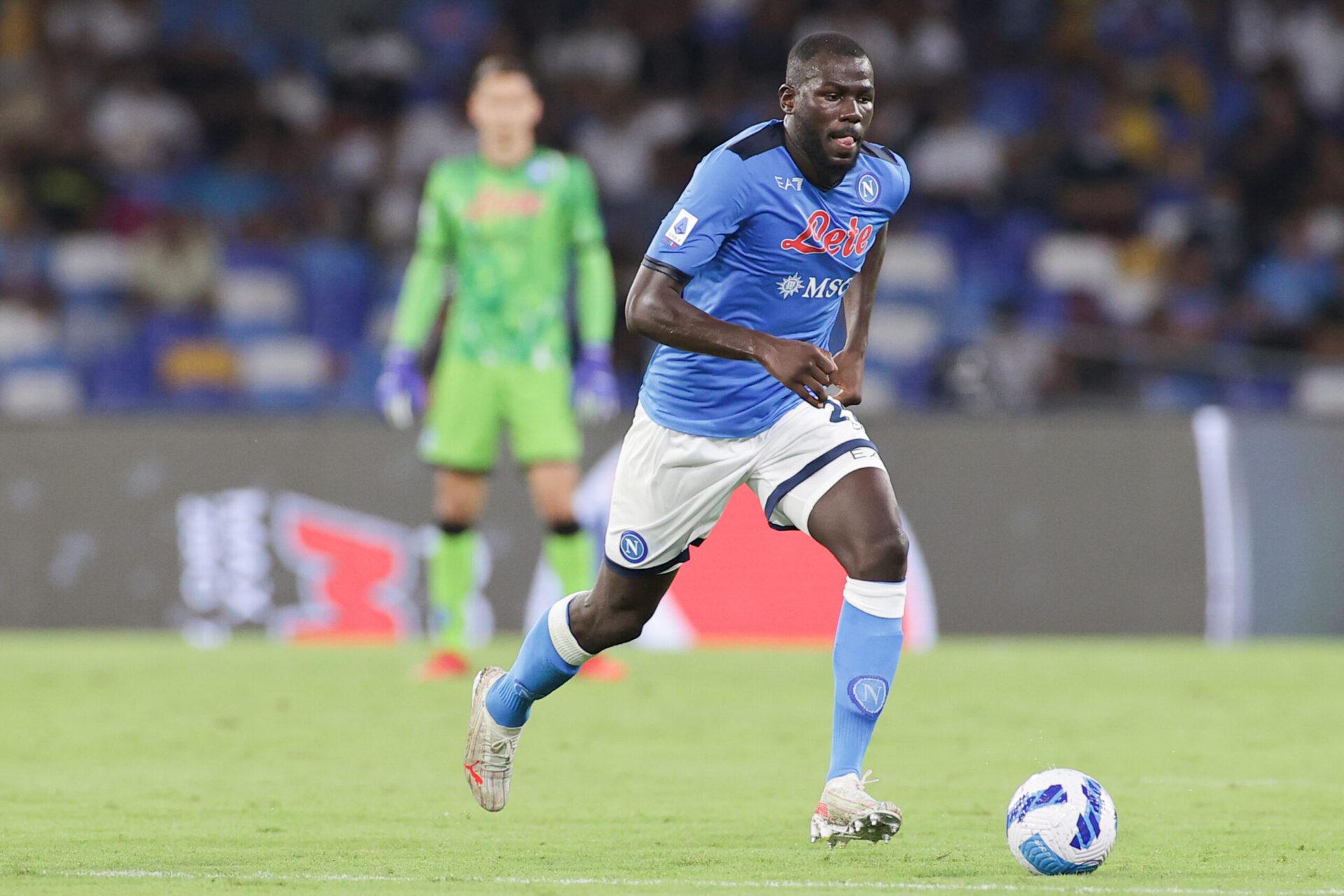 Kalidou Koulibaly, victime d'insultes racistes lors du match contre la Fiorentina (IconSport)
