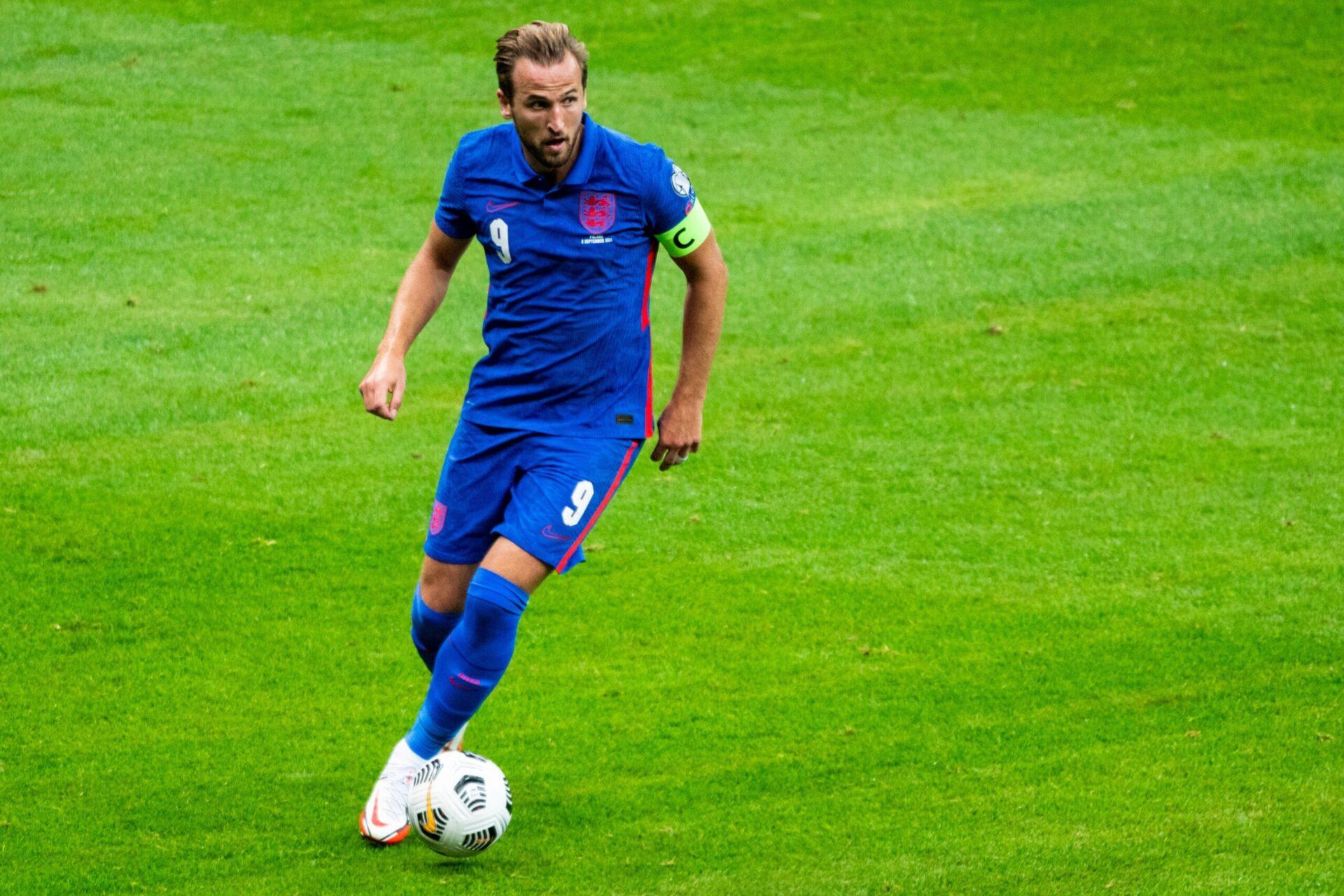 En Andorre, l'Angleterre de Harry Kane aura l'occasion de se rapprocher encore un peu plus de la qualification pour la Coupe du monde 2022 (iconsport)