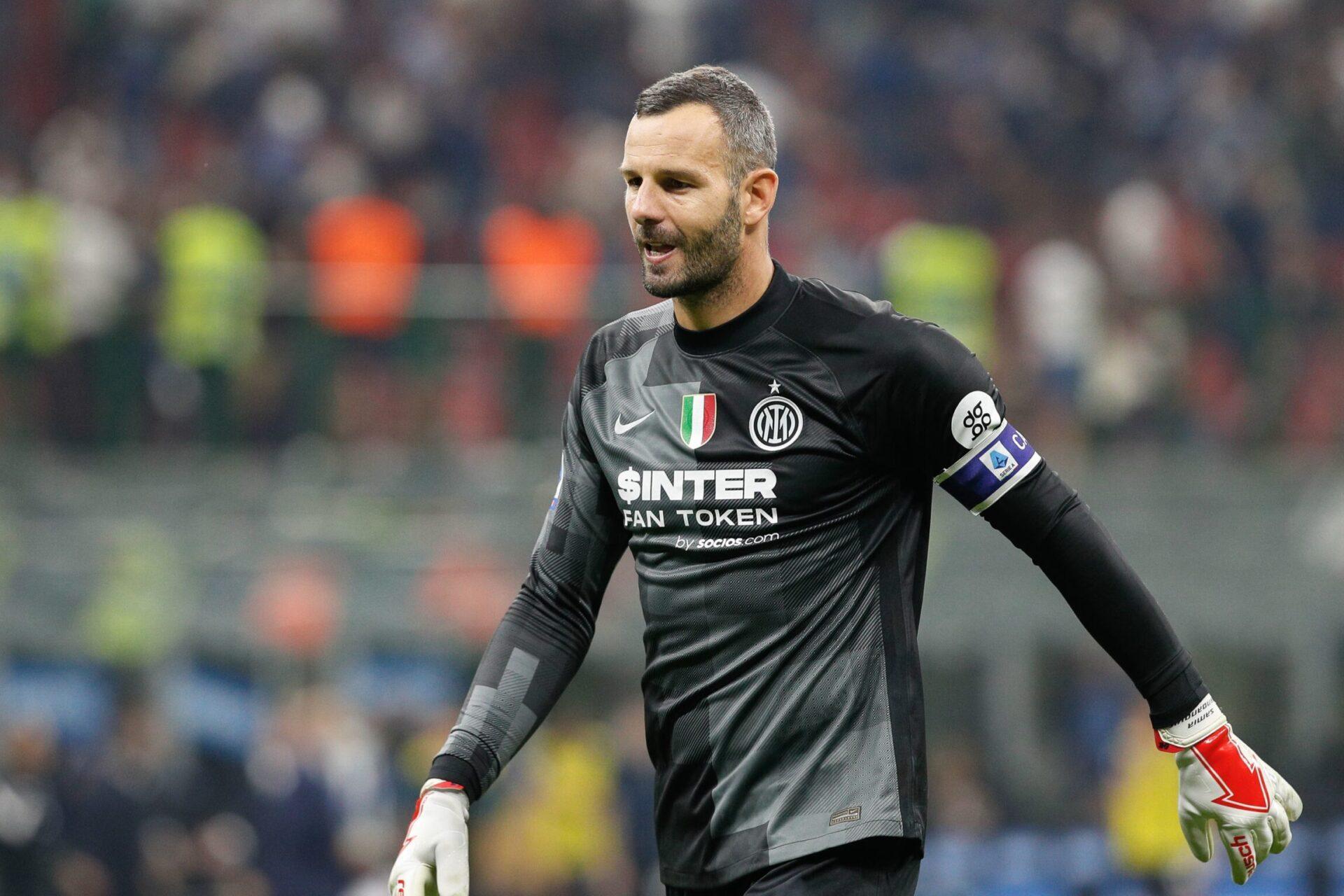 L'Inter pourrait encore faire confiance à Handanovič l'année prochaine, mais Onana devrait rapidement lui succéder (iconsport)