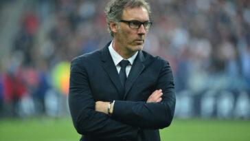 Laurent Blanc ne souhaite pas donner la moindre importance aux rumeurs (IconSport)
