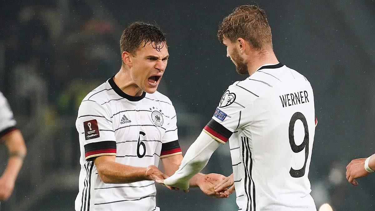 L'Allemagne est devenue la première sélection à décrocher son ticket pour la Coupe du monde 2022 (iconsport)