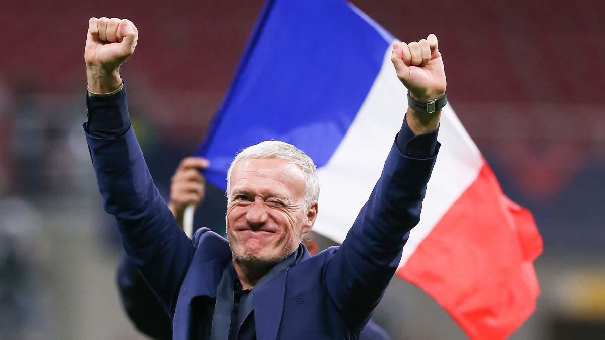 Didier Deschamps a reconnu avec franchise qu'il ne connaissait pas la règle ayant permis à Mbappé de ne pas être signalé hors-jeu contre l'Espagne (iconsport)