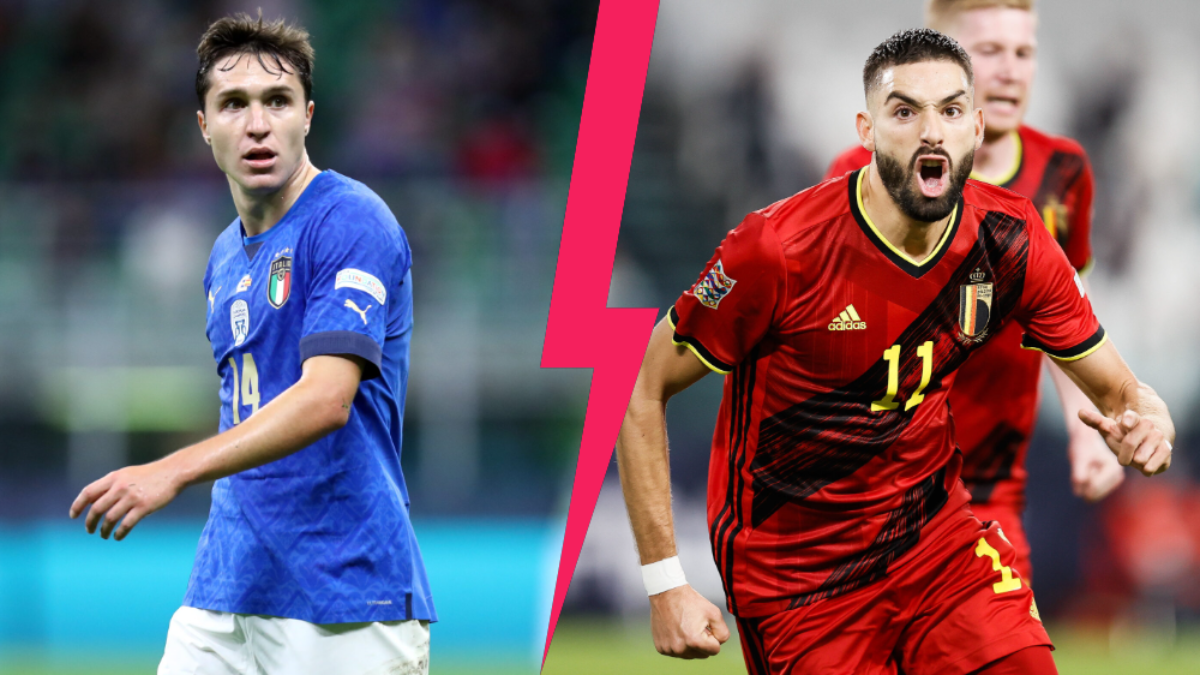 L'Italie affrontera la Belgique ce dimanche après-midi (iconsport)