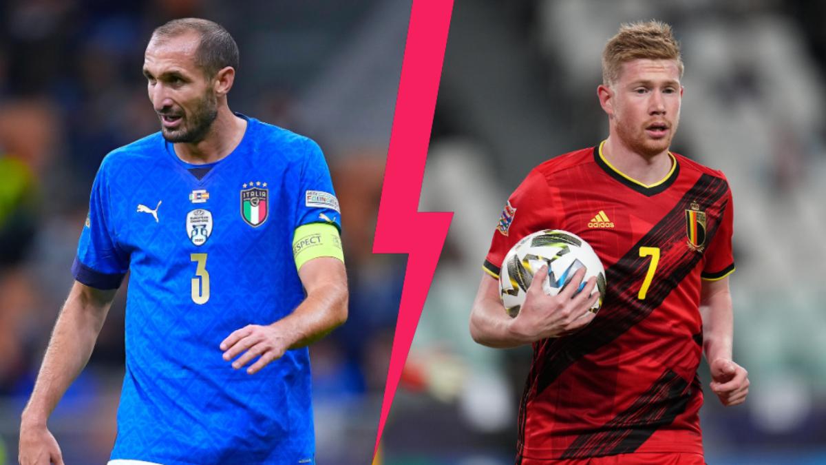 La Belgique affrontera l'Italie ce dimanche après-midi (iconsport)